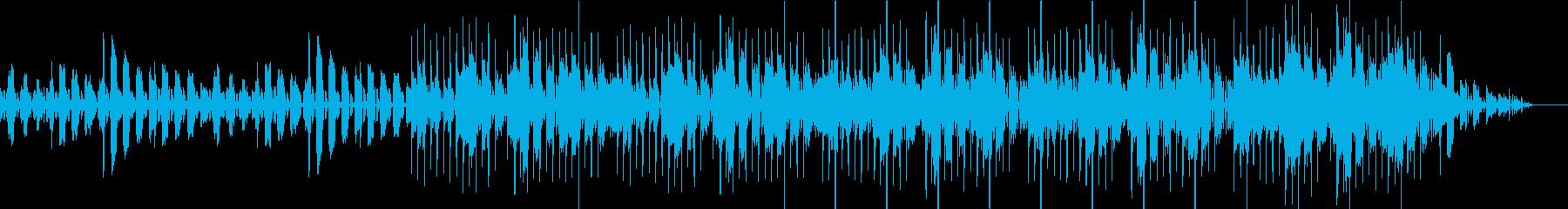 キック(バスドラム)抜きの再生済みの波形