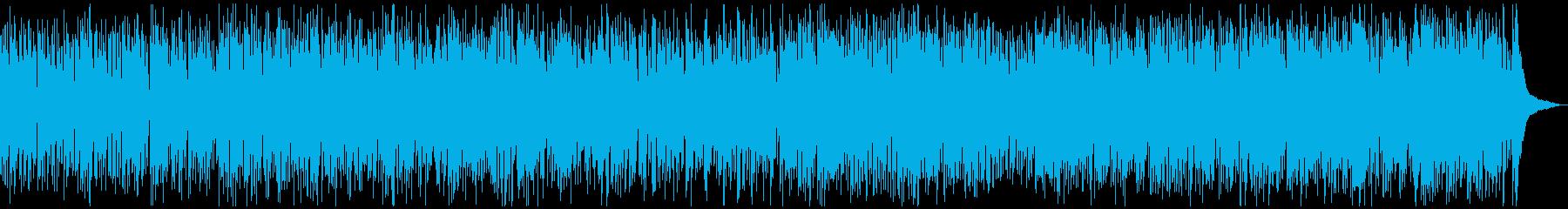生音・生演奏・軽快で楽しいビバップジャズの再生済みの波形