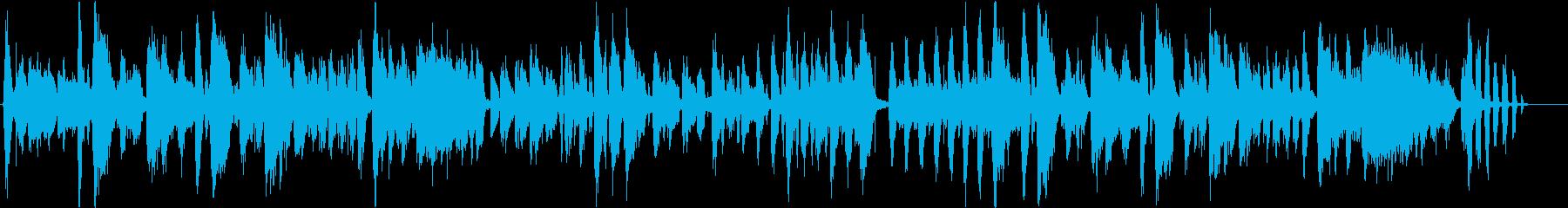 歯をテーマにした楽曲の再生済みの波形