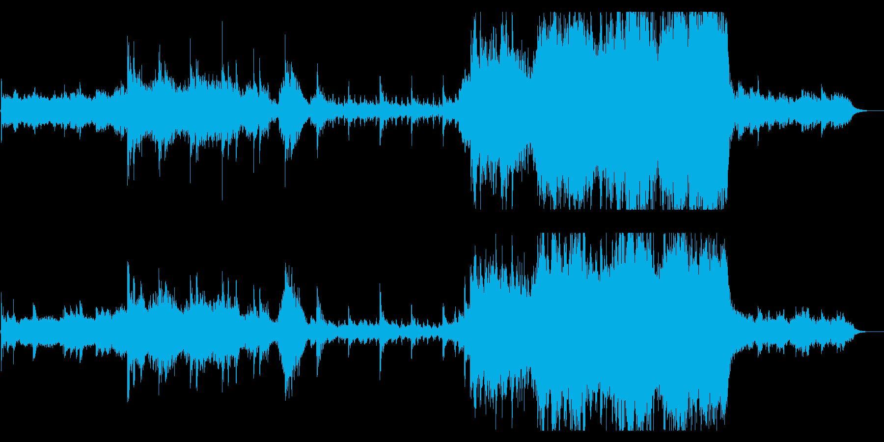 Sky Blueの再生済みの波形