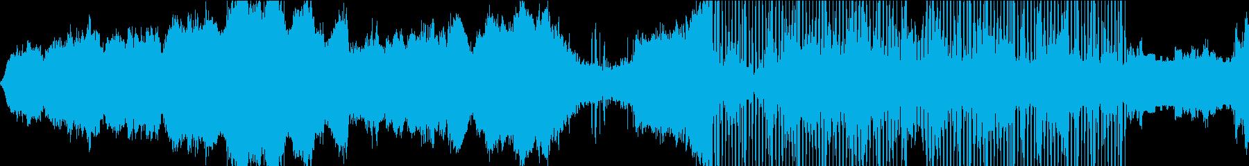 モダン 実験的 バトル 焦り ファ...の再生済みの波形