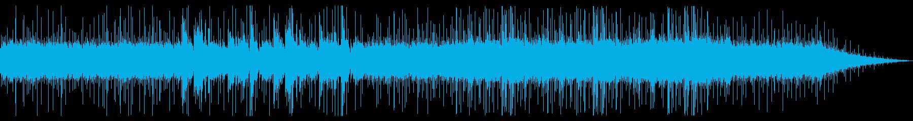 洞窟や森の中-シンセアルペジオ+ピアノの再生済みの波形