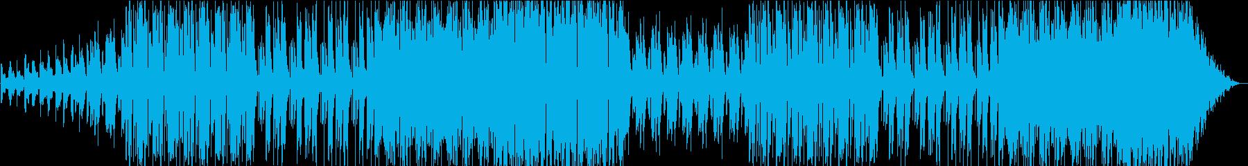 優しさに包まれるような柔らかいBGMですの再生済みの波形