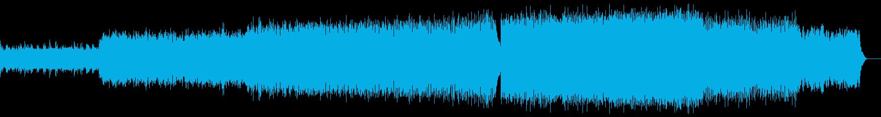 PVをイメージしたさわやかなで切ない曲の再生済みの波形