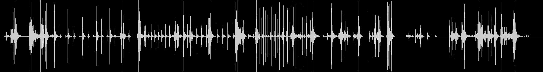 【機械】 動作 08 タイプの未再生の波形