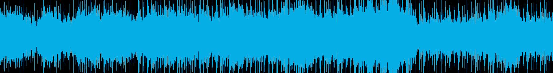 ループ:夜を彩るアダルトな女性Voハウスの再生済みの波形