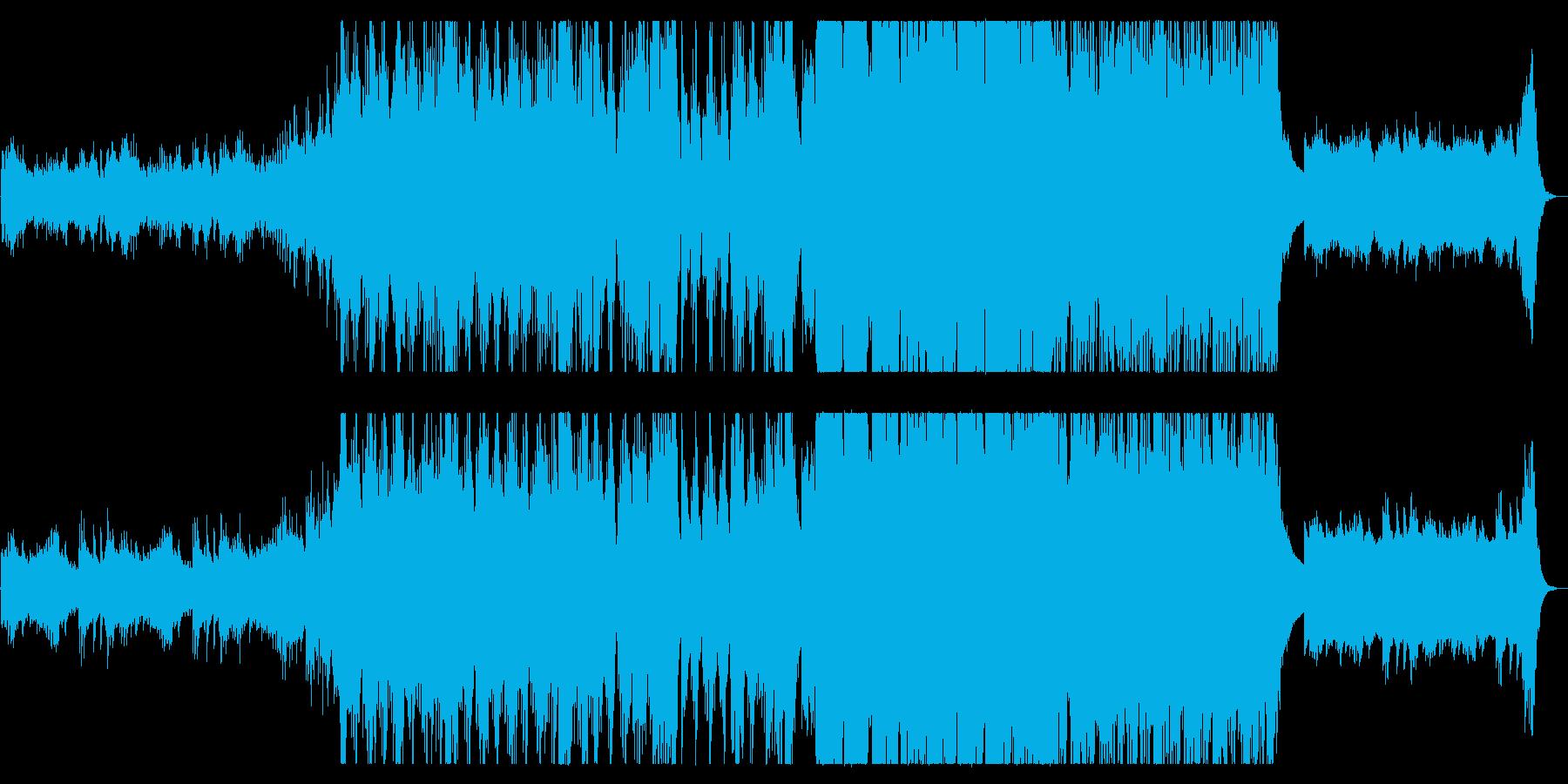 【コーラス無し】オーケストラ…壮大・勇敢の再生済みの波形