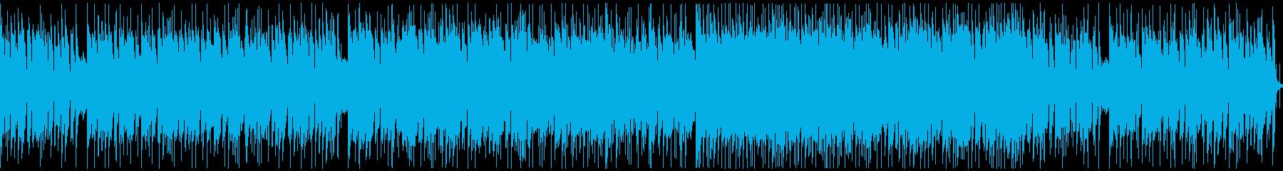 不思議からのワクワク風BGMループの再生済みの波形