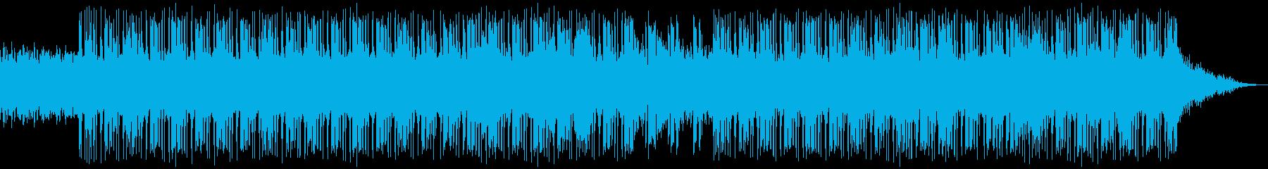 切なくて悲しいメローなピアノチルホップの再生済みの波形