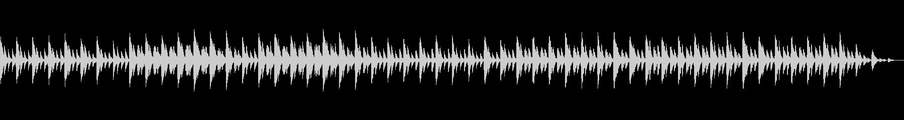 可愛らしい音色と優しい音楽の未再生の波形