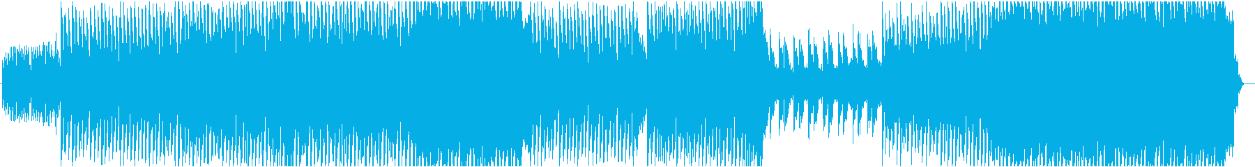 エモーショナルなEDMです。の再生済みの波形