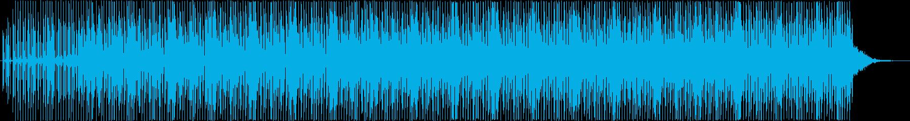 スタイリッシュでかっこいいメロディーの再生済みの波形