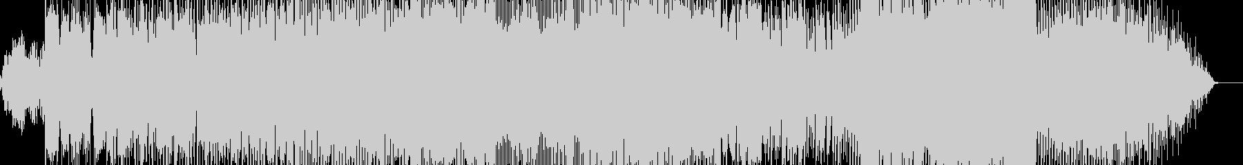 ハウスミュージックっぽいインストの未再生の波形