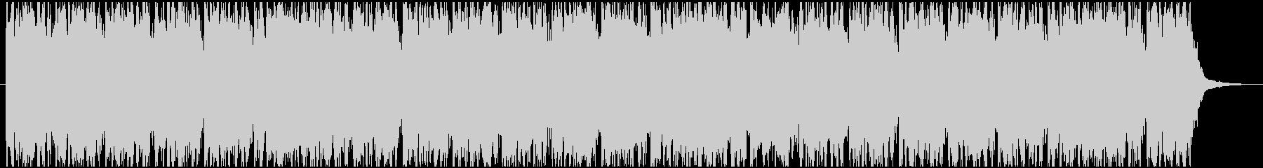 ハッピーバースデー ポップなリミックスの未再生の波形