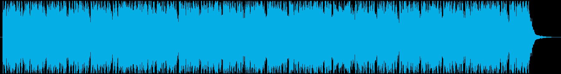ハッピーバースデー ポップなリミックスの再生済みの波形
