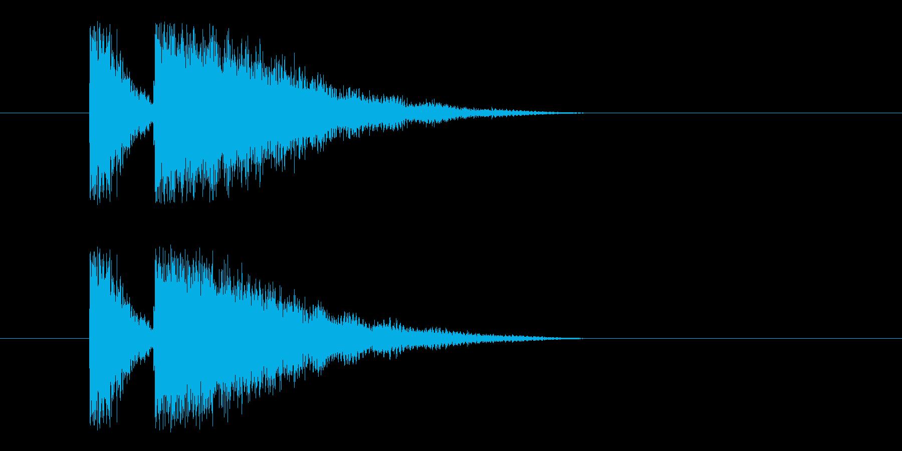 ビームライフル4の再生済みの波形