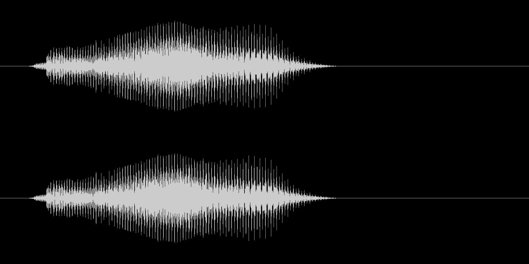 ブイの未再生の波形