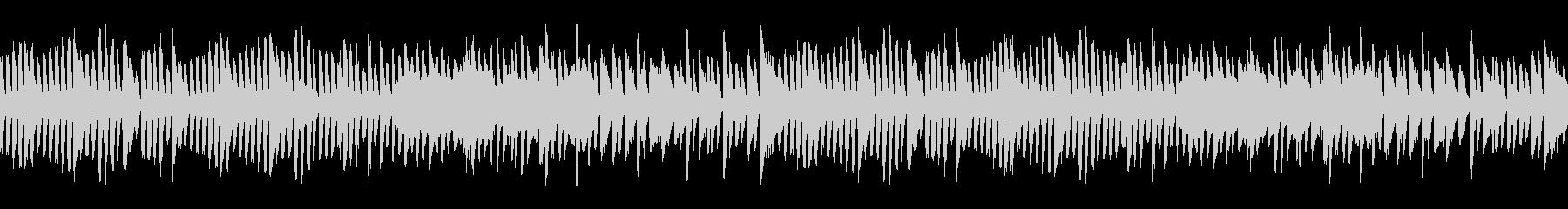 シンプルなピアノ曲【ジングルベル】の未再生の波形