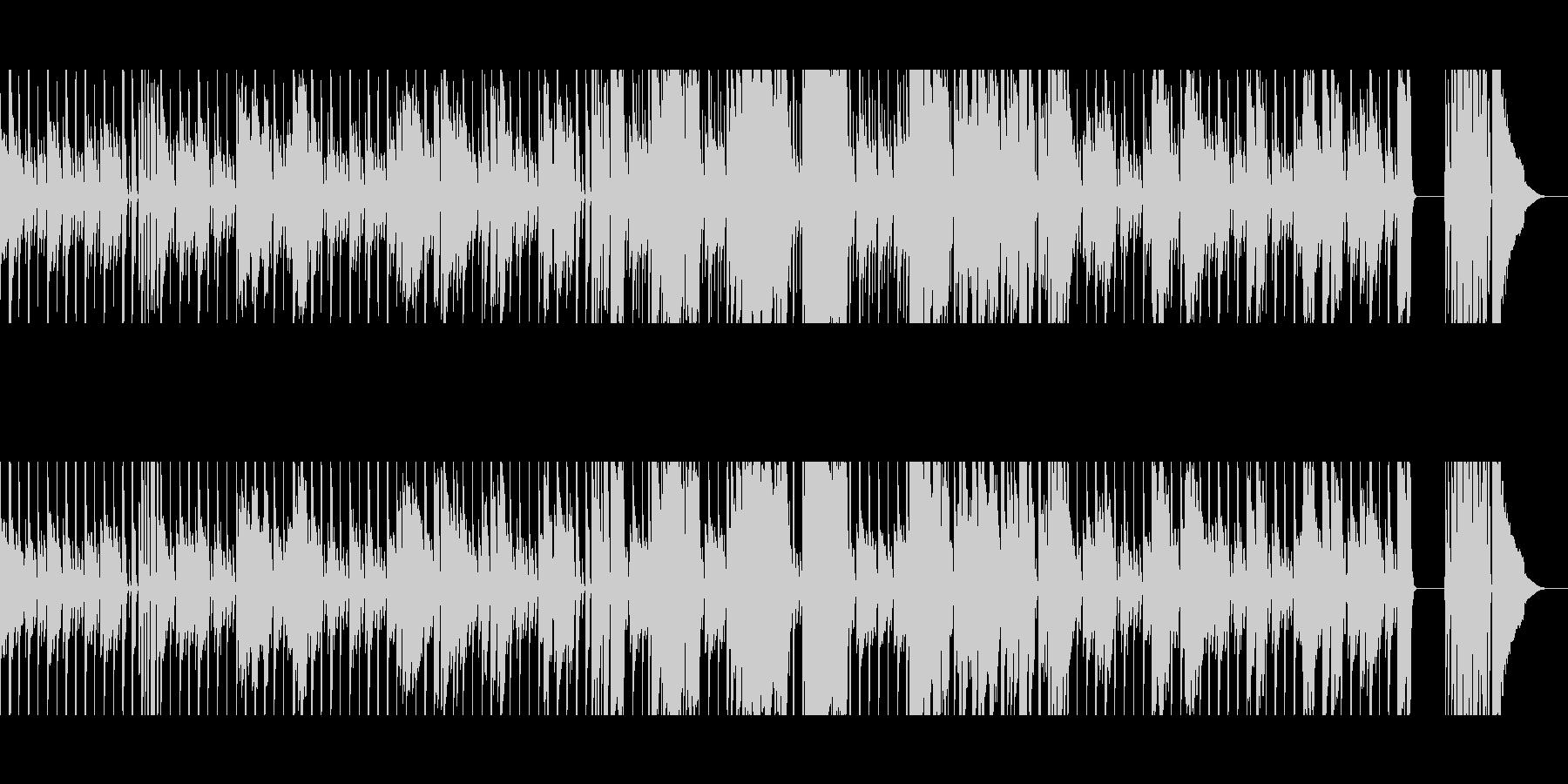 【短いVer5】スローブルースの未再生の波形