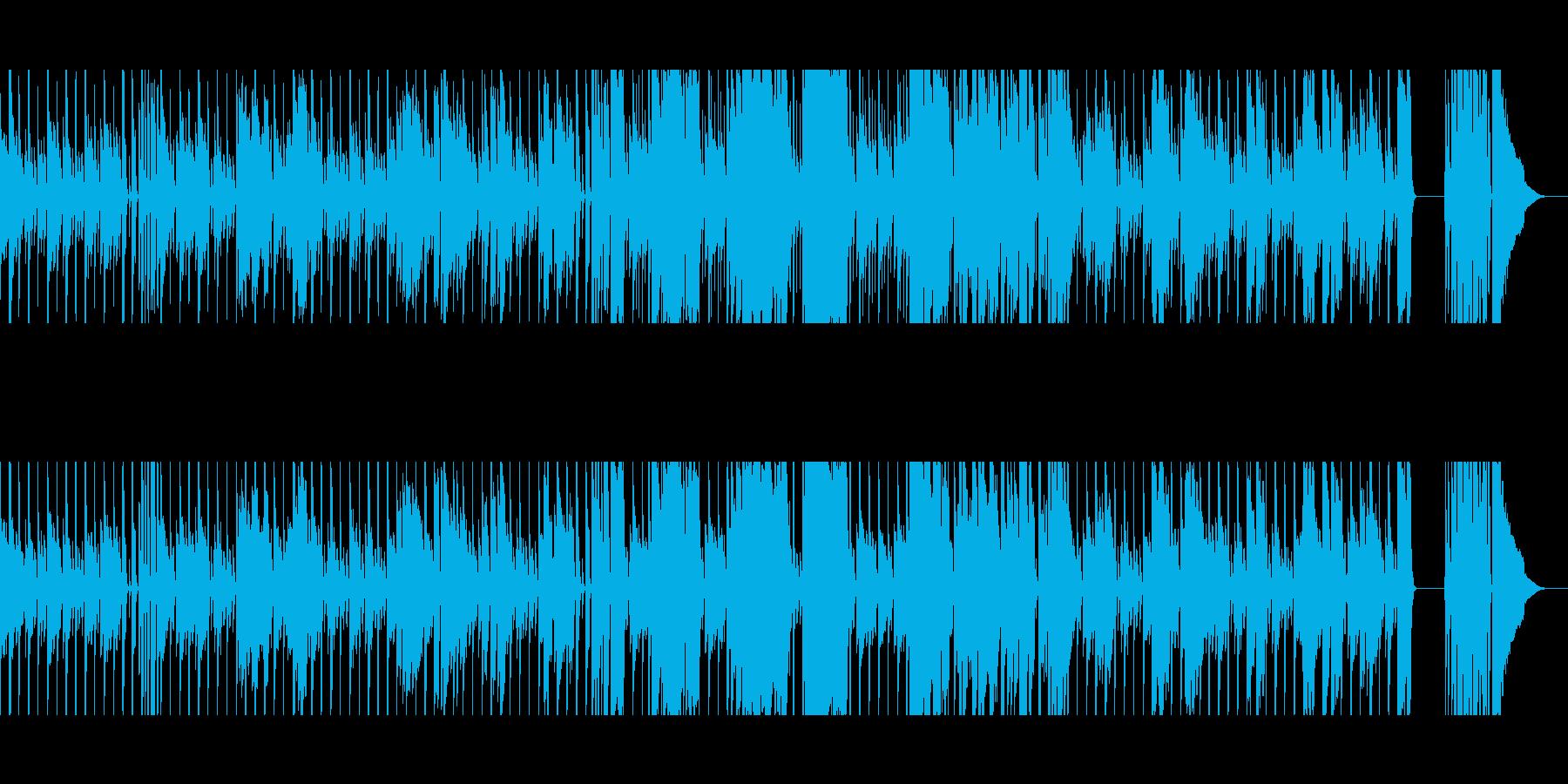 【短いVer5】スローブルースの再生済みの波形