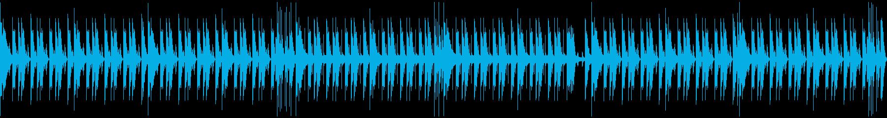 クールでかっこいいロックドラムの再生済みの波形