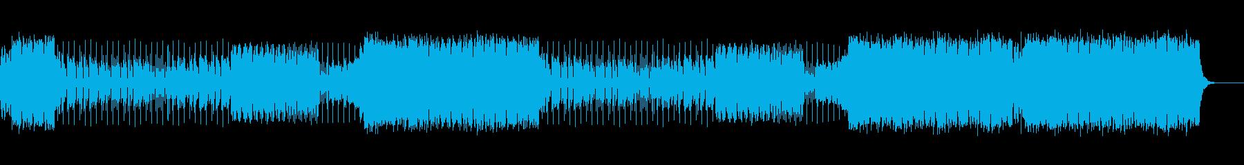 ベースの音が印象的なテックハウスの再生済みの波形