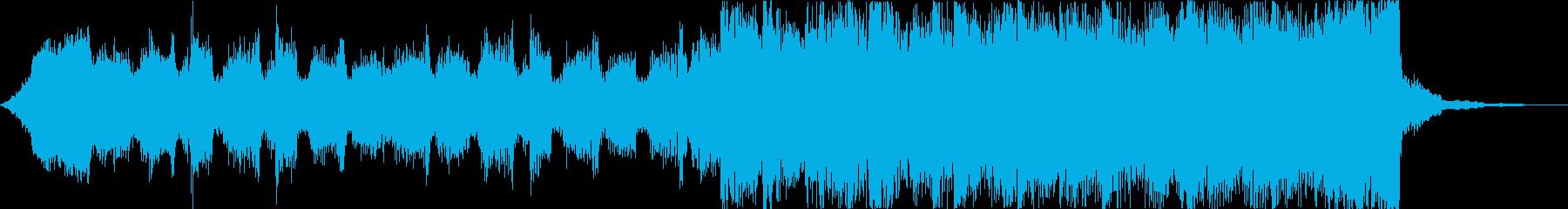 雄大壮大自然海夏EDMトロピカルハウスeの再生済みの波形