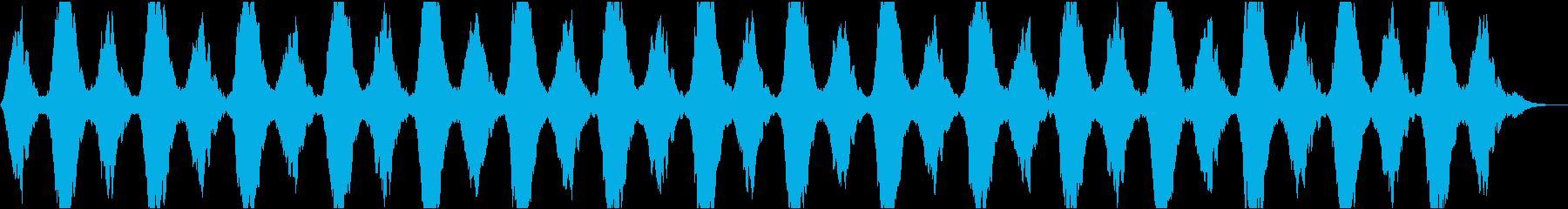 動画11 リラックス・スパ・施設・アプリの再生済みの波形