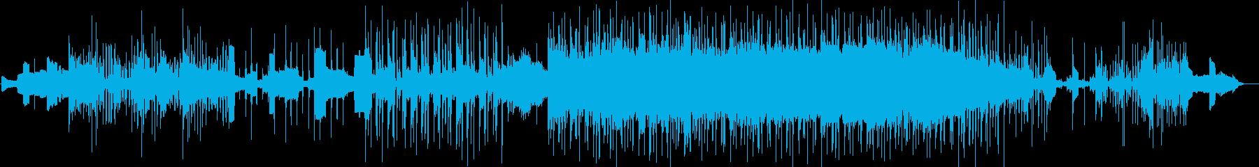 ポップの再生済みの波形