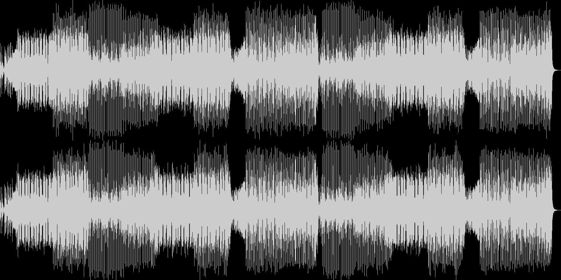 クラブ系ダンスミュージック/EDMの未再生の波形