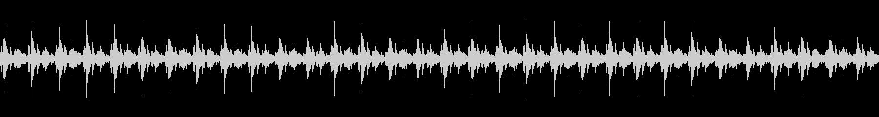 クリスマスっぽい鈴の音の未再生の波形