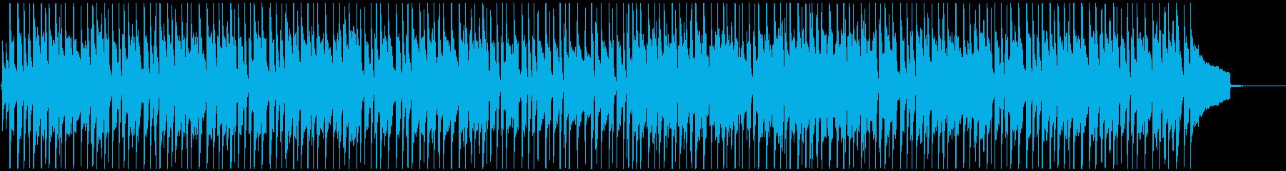 明るく軽快なリズムの和風・日本風ポップスの再生済みの波形