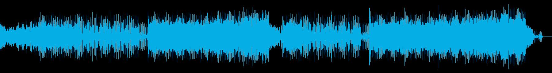 切ない雰囲気のポップスの再生済みの波形