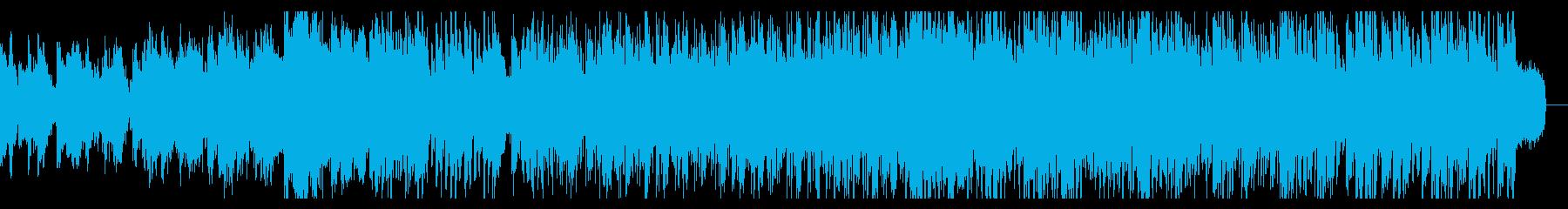 不思議な空間のアンビエントIDMの再生済みの波形