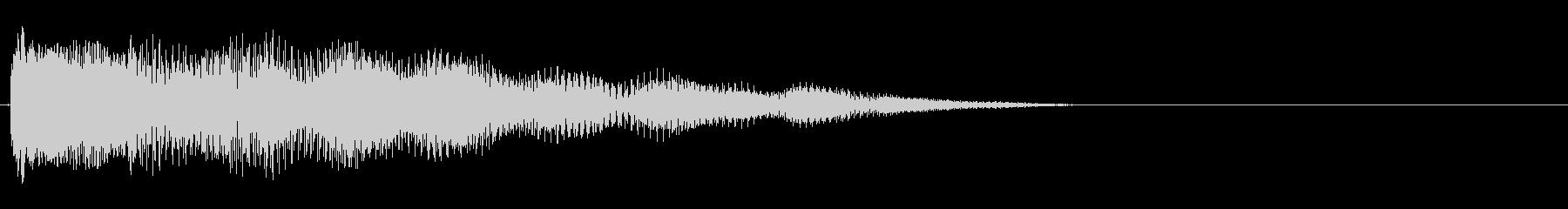 強化されたプラクテッドシンセアクセント8の未再生の波形