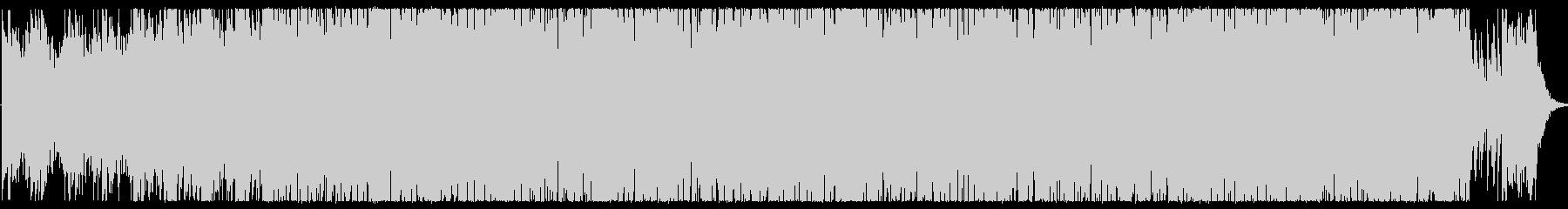 さわやかなピアノのメロディです。の未再生の波形
