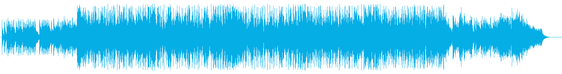 【琴、尺八】疾走感のある和風ビートの再生済みの波形