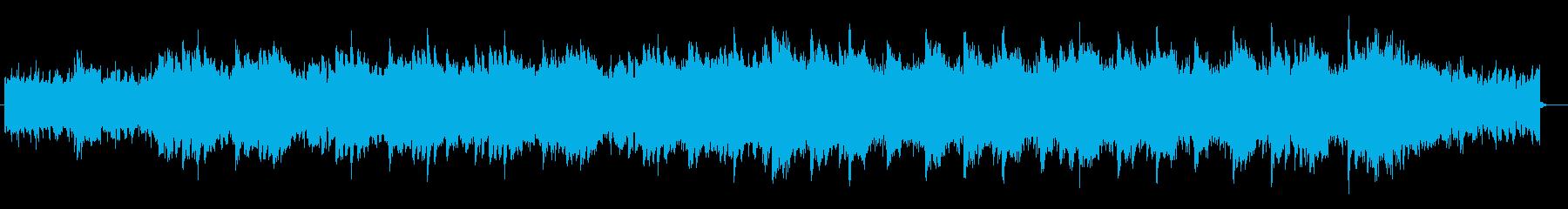 ピアノとシンセが主体の爽やかなCM音楽の再生済みの波形