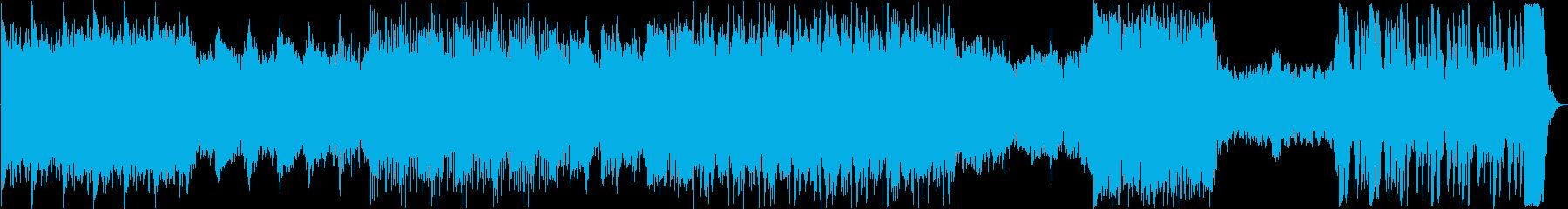 ファンタジー系オーケストラの再生済みの波形