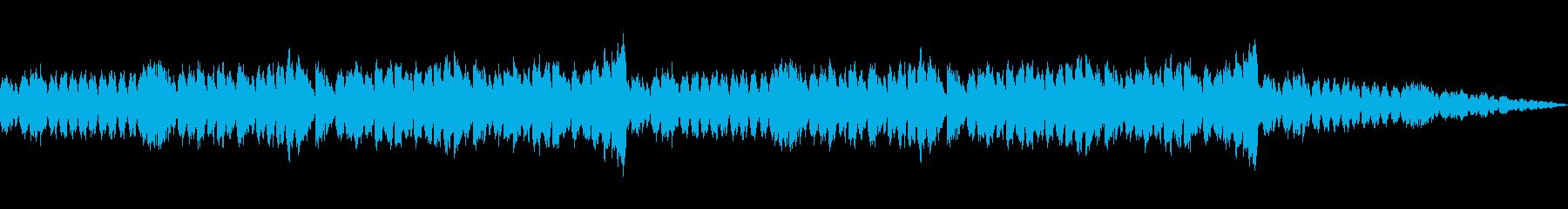 メルヘンで可愛らしいクリスマスBGMの再生済みの波形