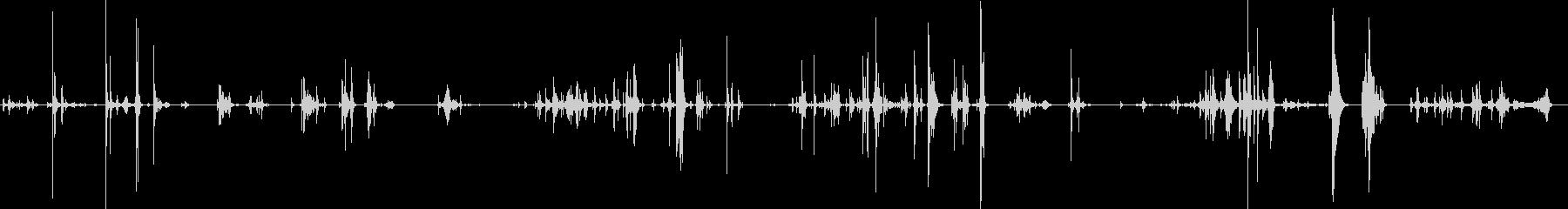 ツールボックス内のアイテムを介したRUの未再生の波形