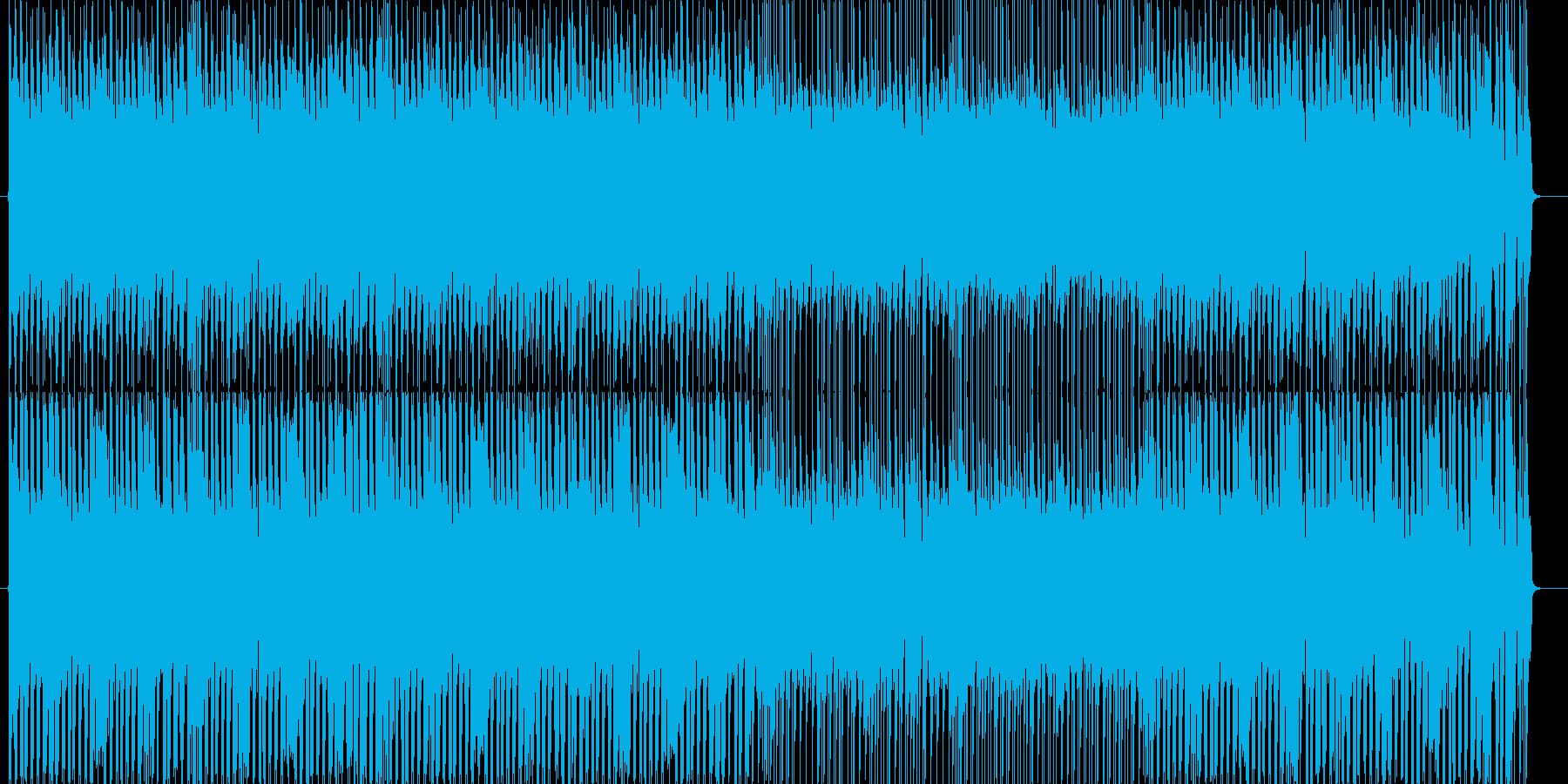 元気わんぱく系の可愛いねこ感【ループ可】の再生済みの波形
