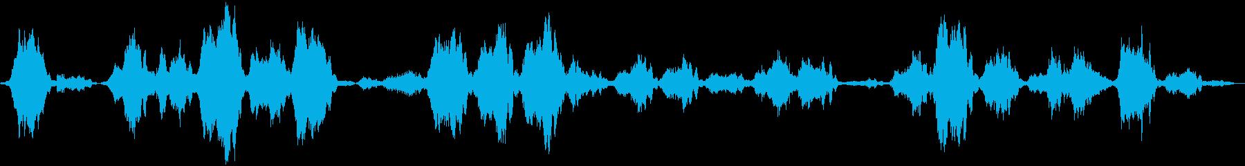 いくつかのフライングソーサーウィズ...の再生済みの波形