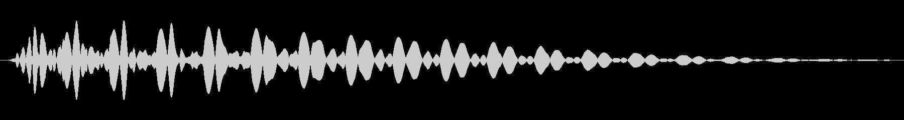 PureTouch アプリ用タッチ音64の未再生の波形