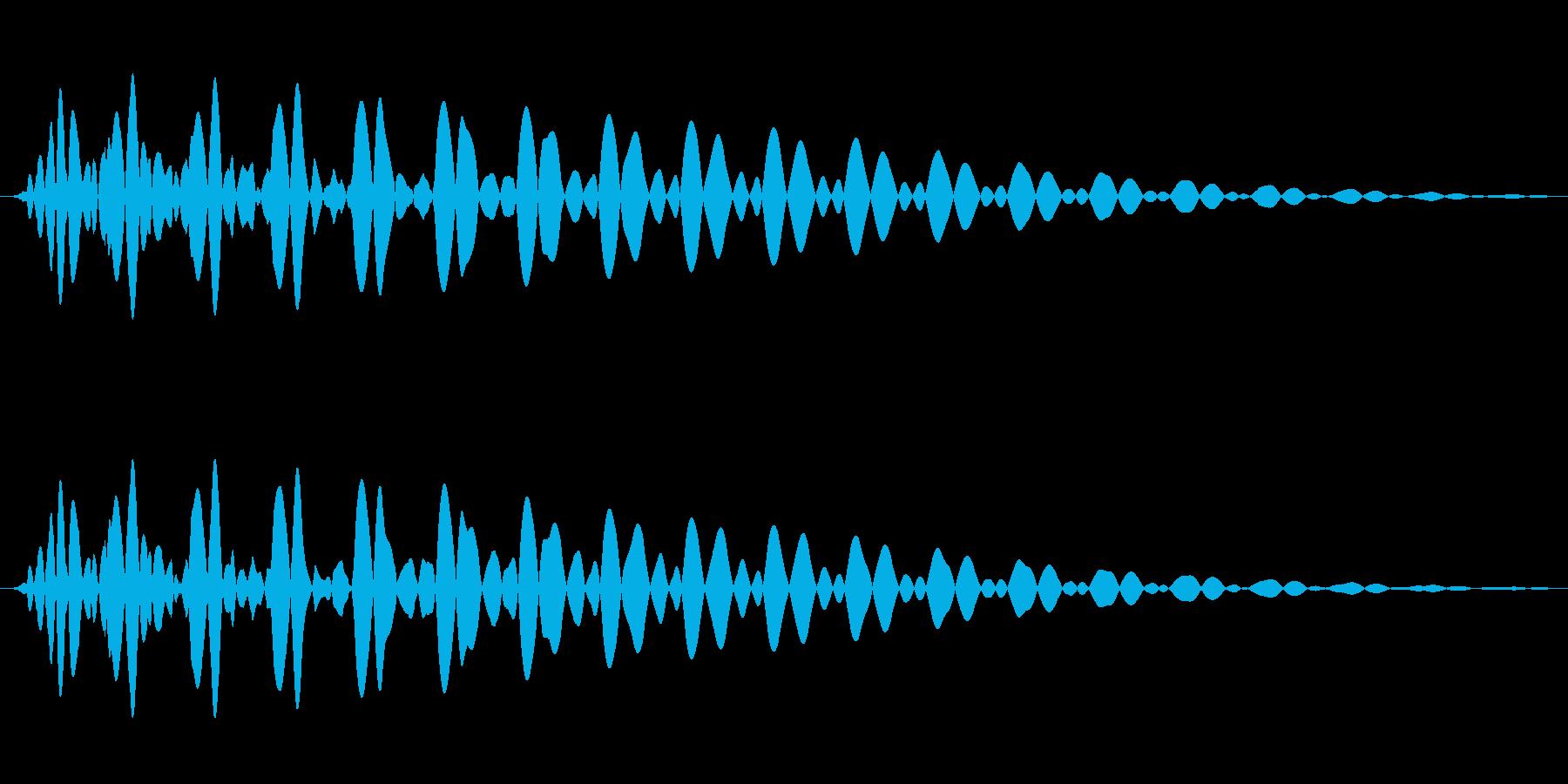 PureTouch アプリ用タッチ音64の再生済みの波形
