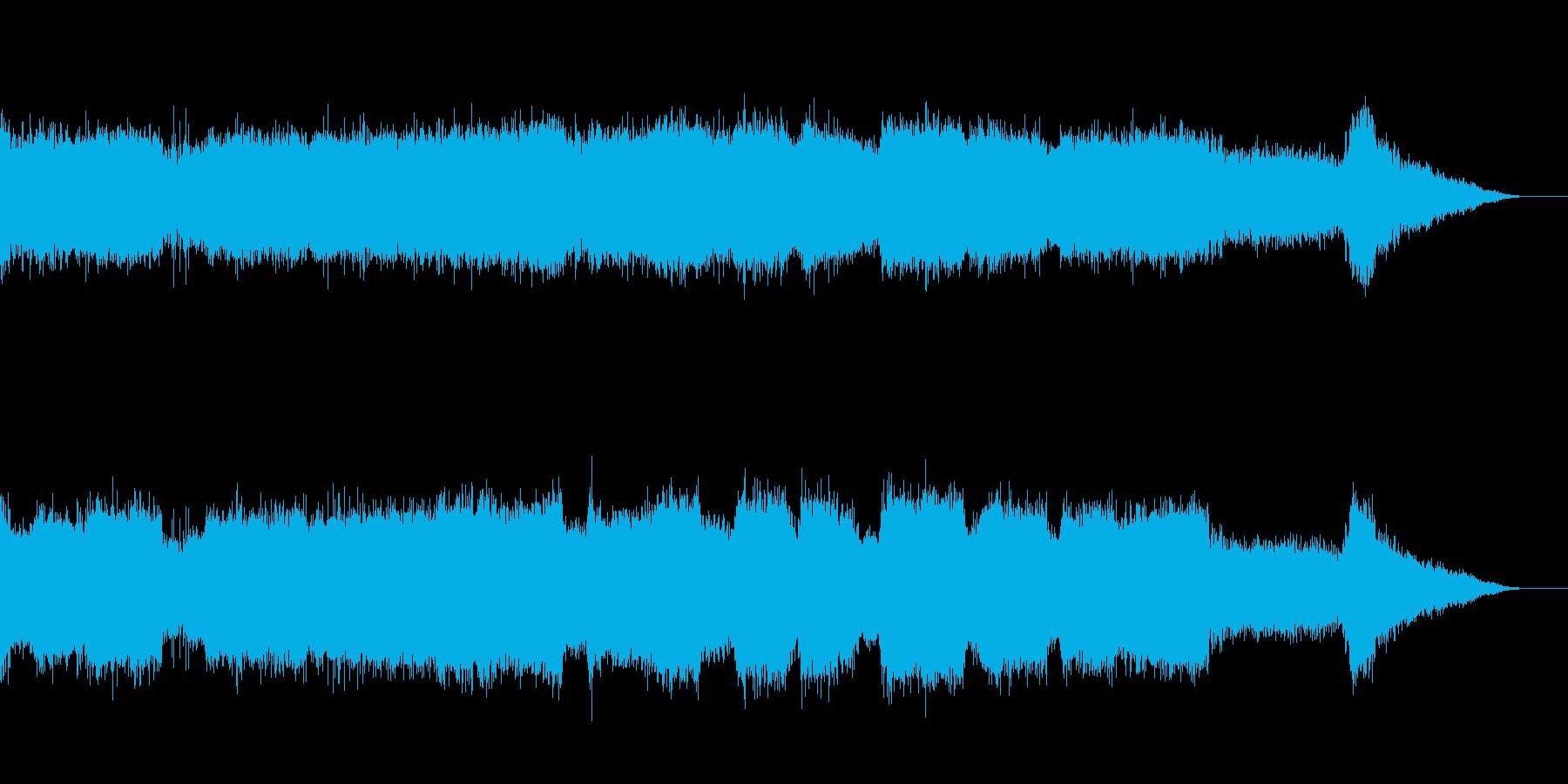 キキーン!街中での工事音の再生済みの波形