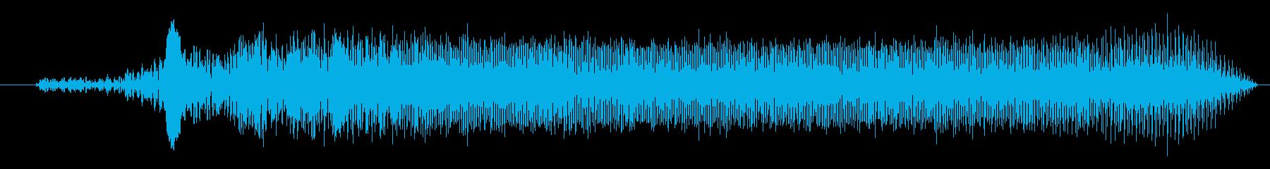 FX 作業ロボット01の再生済みの波形
