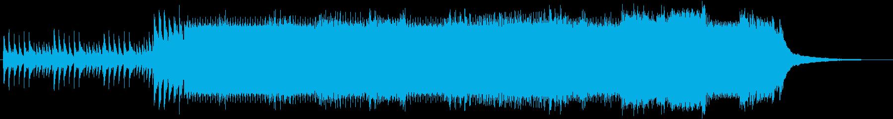 ゲーム シリアス 緊張感 ピアノ曲の再生済みの波形