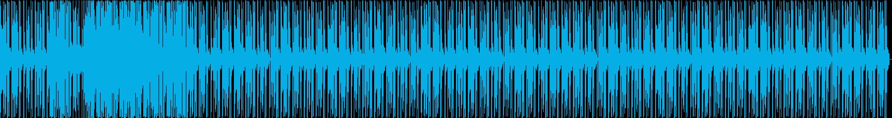 クラブや夜の外出のためのエネルギッ...の再生済みの波形