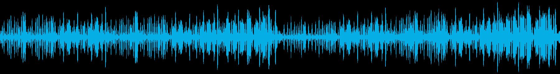 リコーダーの元気で可愛い曲2_ループの再生済みの波形
